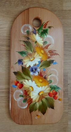 Galina's wall photos - Galina's wall photos Zdjęcie Wooden Painting, Wooden Art, Tole Painting, Fabric Painting, Flower Pot Crafts, Flower Art, Indian Art Gallery, Acrylic Painting Inspiration, Spring Painting
