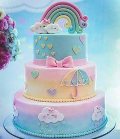Que doçura de bolo #chuvadeamor . . . . . . #festejaragora #bolodecorado #boloinfantil #bolopersonalizado #bolodecriança #bolo #bolos #bolodefestainfantil #cakedesign #cakedecorating #cake #cakes #cake #bolosdecorados #bolospersonalizados #jardimencantado #cake #festainfantil #bolosespetaculares @artebolos