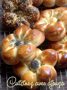 Recette pain buns brioché