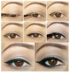 How to heavy eyeliner