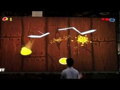 Padzilla 'Too' Crunchy Logistics - Largest iPad ever using Gesture Recognition