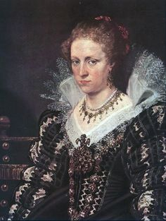 Portrait of Jacqueline of Caestre early 17th Century  By Peter Paul Rubens