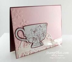 Stampin' Up! Tea Shoppe - dainty, elegant, simple