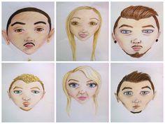 Illustration. Coloured pencils. Uni project.