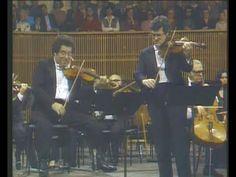 Mozart - Sinfonia Concertante in E-flat major - Itzhak Perlman Pinchas Zukerman
