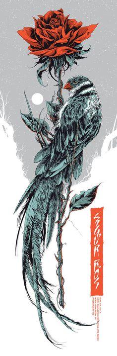 "Ken Taylor - Illustration and Design - Melbourne, Australia ""Sigur Ros"" North Charleston"