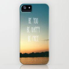 Be happy iPhone Case  $35.00