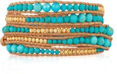 Editor - Polyvore Chan Luu, Bangles, Bracelets, Turquoise Bracelet, Beads, My Love, Creative, Jewelry, Editor