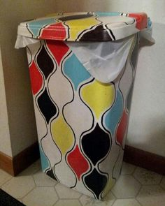 DIY paint your garbage can