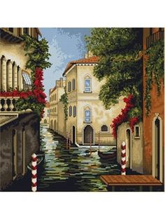 Venice in Colours Cross Stitch Kit. £25
