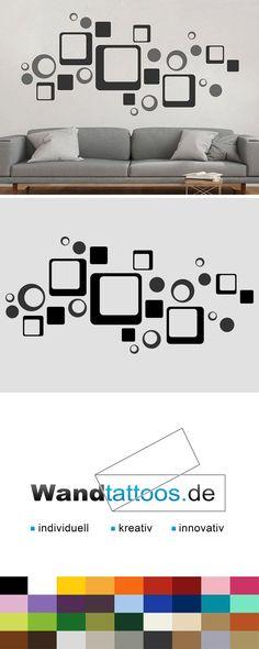 Wandtattoo Cubes and dots als Idee zur individuellen Wandgestaltung. Einfach Lieblingsfarbe und Größe auswählen. Weitere kreative Anregungen von Wandtattoos.de hier entdecken!