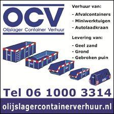 OCV Containerverhuur , het adres voor containers in Winterwijk , Aalten , Bredevoort en Dinxperlo . Vraag naar de mogelijkheden bij Chris Olyslager van OCV