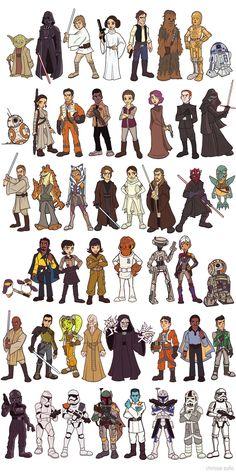Siluetas Disney, Dibujos Animados Clásicos, Dibujos Kawaii, Personajes De Juegos, Dibujo Personajes, Como Dibujar Anime Manos, Soldados Star Wars, Guerra De Las Galaxias Cumpleaños, Illustrations De Star Wars