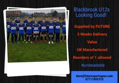 Yet another quality Kit supplied by Future!! #3weeks #value #eyecatching Your club could also benefit from changing to a professional and caring team wear company #future