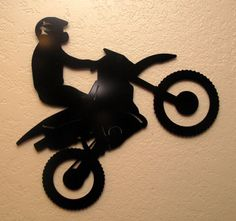 Large Motorcycle Metal Wall Art by BCMetalCraft on Etsy Metal Artwork, Metal Wall Art, Diamond Template, Gravure Laser, Laser Cut Metal, Wood Burning Patterns, Stencil Designs, Vinyl Designs, Plasma Cutting