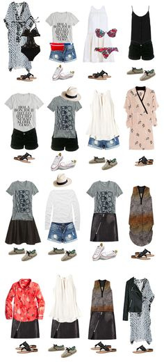 Pin now, use later: The perfect packing list for spring summer #travel