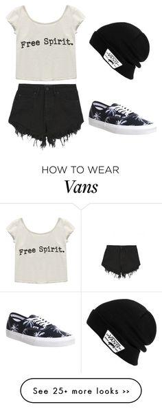 """""""Untitled #243"""" by abigailduff on Polyvore featuring Nana Judy, Wet Seal and Vans"""