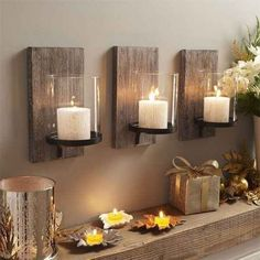 Candles, Candles, Candles! | How To Create Rustic Farmhouse Decor At Your Home?