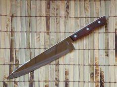 Vintage Kitchen Knife MAXAM Chef's Knife 14 Inch Full Tang Blade Mid Century  #Maxam