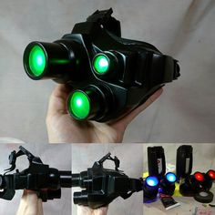 One last Splinter Cell post! The last of my commissions are finally done! Archer's goggles from Splinter Cell: Conviction and goggles from Splinter Cell: Chaos Theory as well as foam opsats. #splintercell #props #cosplay #cosplayprops