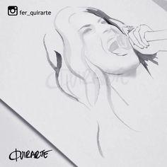 #laurapausini #lavozmexico #lavoz #fashion #drawing #illustration #art #quirarte #ferquirarte #moda #arte #dibujo