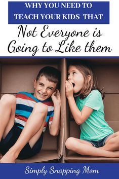 Should you teach your kids that not everyone is going to like them? Learn the benefits of having this conversation and the 5 ways we do this. Gentle Parenting, Parenting Advice, Teaching Kids, Kids Learning, Life Skills Kids, Raising Kids, Raising Daughters, Dear Parents, Parenting Toddlers