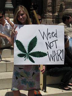 Weed!! Not War!! #Marijuana, #ghanja #cannabis #kush #bud #smoke #Buddha #weed