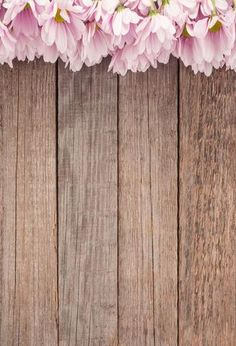 Wooden Backdrop Flower Backdrop Floral Backgrounds Wood Floor J05049