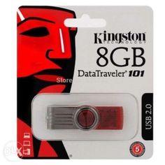 ลดราคา  KINGSTON แฟลชไดร์ฟ 8GB USB2.0 DRIVE สีแดง รุ่น DT101G28GB ของแท้  ราคาเพียง  329 บาท  เท่านั้น คุณสมบัติ มีดังนี้ Flash Drives จากแบรนด์ดัง&Kingston ขนาดความจุ 8 GB ขนาดกะทัดรัดพกพาไปไหนก็สะดวก มีห่วงหมุนสำหรับเปิดปิดการใช้งาน รองรับ: Windows® 8, Windows 7, Windows Vista®, Windows XP, MacOS X v.10.6.x+, Linux v.2.6.x+