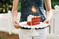 sparkler cake! | Faith Teasley