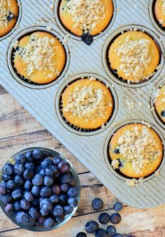 Paleo and Gluten Free Blueberry Muffins. Moist and full of flavor, these paleo muffins taste like they came from your favorite bakery. Full of whole, unprocessed ingredients, this is the best paleo muffin recipe out there!