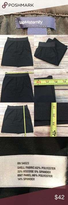 ⭐️Size 14 GAP Maternity Stretch Gray Pencil Skirt Measurements are in photos. Normal wash wear, no flaws. B2/34  I do not comment to my buyers after purchases, due to their privacy. If you would like any reassurance after your purchase that I did receive your order, please feel free to comment on the listing and I will promptly respond.   I ship everyday and I always package safely. Thank you for shopping my closet! Gap Skirts Pencil
