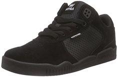 Supra ELLINGTON, Unisex-Erwachsene Sneakers, Schwarz (BLACK/BLACK - BLACK BBB), 43 EU (8.5 Erwachsene UK) - http://on-line-kaufen.de/supra/43-eu-supra-unisex-erwachsene-ellington-sneakers-2