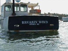 20 Hilarious Boat Names