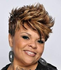 Short Haircuts for Women Over 40 - 50: African American Hairstyles