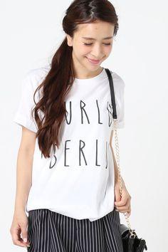 IENA SLOBE(イエナ スローブ) SHAMAN HURLUBERLU Tシャツ   スタイルクルーズ