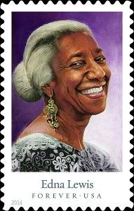 "For the first time, the U.S Postal Service will offer celebrity chef ""Forever"" stamps featuring five culinary legends, including the 'Grand Dame of Southern Cooking,' Edna Lewis. http://ednalewisfoundation.org/usps/"