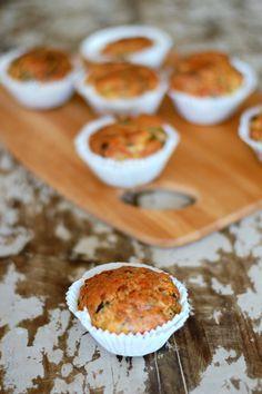 Savoury muffins. So good! www.copenhagencakes.com