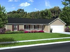 Single story houses exterior paint ideas