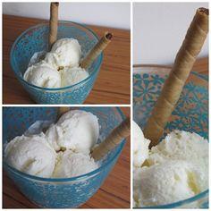 Helado de coco Popsicles, Ice Cream, Sweets, Desserts, Cold, Coconut Ice Cream, Sorbet, Recipes, Tasty