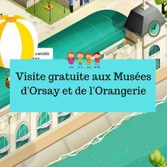 Les Musées d'Orsay et de l'Orangerie proposent un super site pour les enfants (Art en famille) Papa Positive, Album Jeunesse, Louvre, Montessori, Positivity, Teacher, Inspirer, Culture, Paris