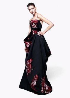 Alexander McQueen Pre-Fall 2012 - this gown reminds of the Twilight book cover