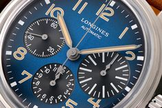 The Longines Avigation BigEye L2.816.1.93.2 is a pilot watch fan's dream. Everything about the special watch with the historical design! Watch Fan, Watch Blog, Watches Photography, Retro Design, Pilot, Pilots