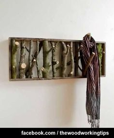 Amazing Clothes Hanger and Wall Art all in one | WoodworkerZ.com