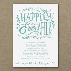 fairy tale wedding invitation wording from www ...