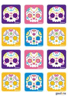 Sur ce site vous trouverez des idées pour créer des objets sur le thème del Día de los Muertos . A vos créations!