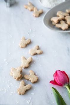 The Green Life :: toasted coconut shortbread cookies | vegan + g.free
