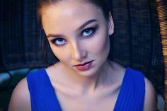 Darina   by valeriabliok brunette girl. studio