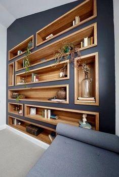 New built in closet design bookshelves 40 Ideas