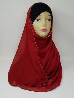 Affordable Hijabusa - Chiffon Hijab, Hijab Scarf, Hijab | Affordable Hijabusa Stylish Hijab, Modern Hijab, Chiffon Hijab, Hijab Caps, Beautiful Hijab, Turban, Head Wraps, Special Events, Cape